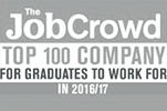 Top 100 Company for graduates to work for in 2016/17